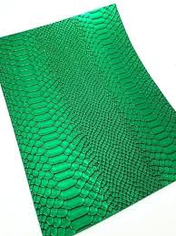 faux leather fabric sheets faux leather sheets gator metallic green faux leather canvas leather sheets textured