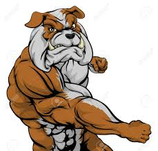 mean bulldog wallpaper.  Mean A Mean Looking Bulldog Sports Mascot Fighting And Punching With Fist With Mean Bulldog Wallpaper R