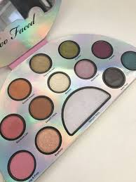 too faced life s a festival peace love and unicorns eye shadow palette