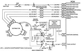repair guides opti spark distributor ignition system diagnosis Lt1 Optispark Wiring Diagram 7 ignition system wiring 1995 5 7l (vin p) engine Lt1 Wiring Harness Diagram