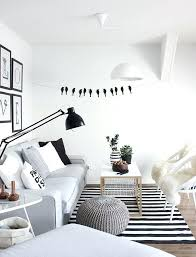 black and white striped rug how to enhance a with a black and white striped rug