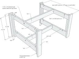 coffee table plans wood coffee table plan drawing image and description free woodworking plans round coffee