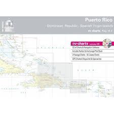 Puerto Rico Charts Nv Charts Region 11 1 Puerto Rico Dominican Republic To Spanish Virgin Islands