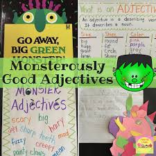 Monsterously Good Adjectives Firstieland