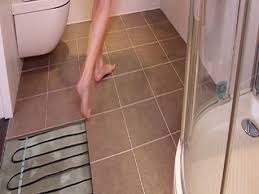 in floor heating for ceramic tile