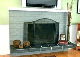 black brick fireplace black brick fireplace painting brick fireplace grey brick fireplace gray painting brick fireplace