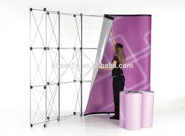 Folding Exhibition Display Stands Trade Show Folding Booth Pop Up Banner Exhibition Display Stand 1
