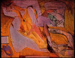 willem de kooning the absurdly chaotic action of nature