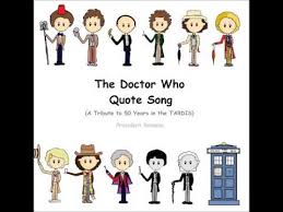 Doctor Who Quotes Best The Doctor Who Quote Song YouTube