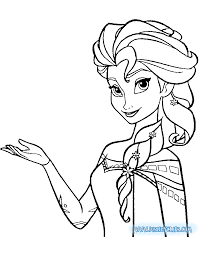 30+ coloring pages of elsa, anna, olaf, kristoff, sven and more in the frozen and frozen ii movies. Frozen Coloring Pages Disneyclips Com