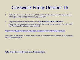 "friday chapter the american revolution ""the end  ppt the american revolution 1763 1783"