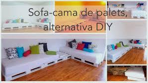 Sofa Cama Con Palets  Referencia CaseraSofa Cama Con Palets