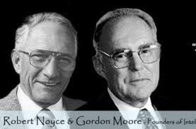 Image result for gordon moore and robert noyce