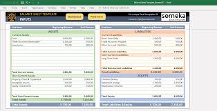 Basic Balance Sheet Template Excel Balance Sheet Template