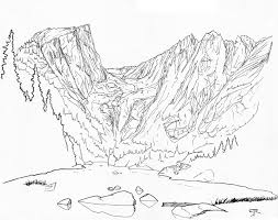 Mountain range line drawing at getdrawings free for personal mountain range line drawing 32 mountain range