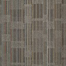 Carpet Tile Patterns Classy Invision Designer Warm Gray Loop 48 In X 48 In Modular Carpet Tile