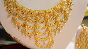 indian gold jewellery designs catalogue you latest calcutta gold designer short necklace