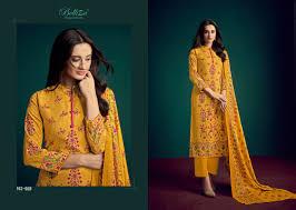 Belliza Designer Studio Online Aisha Belliza Designer Studio Pashmina Printed Winter Wear