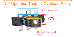 Overload Chart Ct Operated Thermal Over Load Relay Current Setting