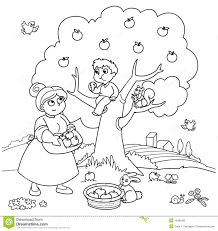apple tree clipart black and white. royalty-free stock photo. download apple tree clipart black and white e