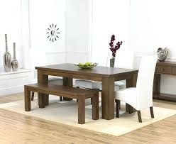 Fine Decoration Dining Room With Bench Cozy Dining Room Furniture Bench Seating For Dining Table