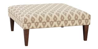 Lovely Coffee Table, Outstanding White Square Shabby Chic Fabric And Foam Coffee  Table Ottomans With Wood Pictures