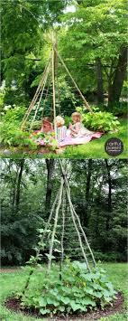 magical diy garden trellis ideas bean tees