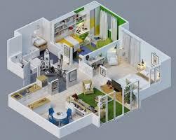 Home Design Plans 3D Creative