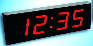 led wall clock battery operated battery wall clock digital battery wall clock battery operated digital wall