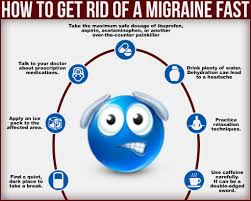 how to get rid of a migraine quick