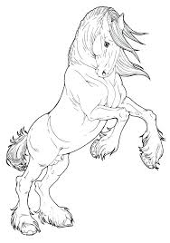 Draft Horse Coloring Pages Trustbanksurinamecom