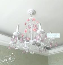pink chandeliers 5 8 lamps wrought iron rose chandeliers lights crystal lamp white pink green flower crystal led candle bulb chandelier in chandeliers from