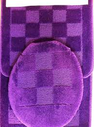 purple bath rugs 3 piece bath rug sets get ations a 3 piece bath rug set