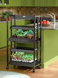 Hydroponic Light Stand Indoor Plant Light Stand Rolling Shelving Unit Brilliant