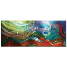 esne composition colorful abstract water art