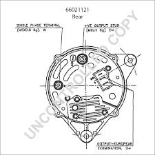 Bosch alternator wiring diagram schematic vw holden marine