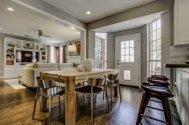 Small Kitchen And Dining Kitchen And Dining Room Combination Makeovers Thelakehousevacom
