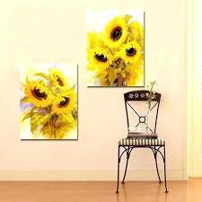 sunflower wall decor sunflower wall art sunflower gardenia flower art wall art printings canvas art print sunflower wall decor