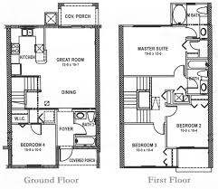 Upstairs Floor Plans   LISA F SIUpstairs Floor Plans bed   floorplan