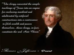 Thomas Jefferson Quotes On Christianity