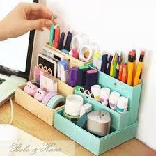diy desk organizer ideas. Exellent Ideas Picture Of Cute DIY Desk Organizer On Diy Ideas P
