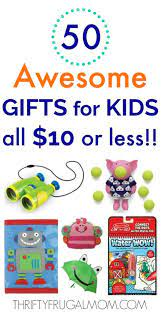 50 awesome gifts for kids that cost 10