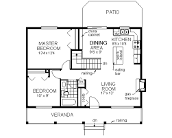 Small 2 Bedroom House Floor Plans Country Style House Plan 2 Beds 1 Baths 900 Sq Ft Plan 18 1027