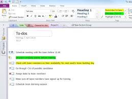 Onenote 2010 Project Management Templates 5 Microsoft Onenote Tips Hp Official Site