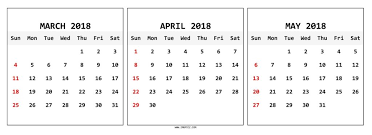 blank march calendar 2018 march april may 2018 calendar template one page calendar grid