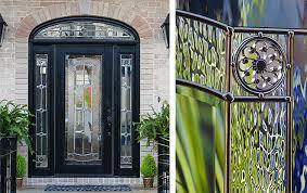 elan decorative door glass