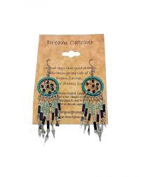 Dream Catcher Earings Mesmerizing El Paso Trading Post Exclusively Native Made Inspired Jewelry