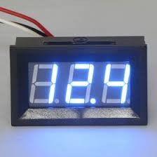 0 56 dc 0 99 9v digital voltmeter three wires car motorcycle 100v 0 56 dc 0 99 9v digital voltmeter three wires car motorcycle 100v voltage panel