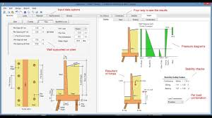 Retaining Wall Structural Design Example Retaining Wall Design Software Cantilever Restrained And
