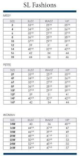 Tadashi Size Chart 80 Punctilious Tadashi Shoji Dress Size Chart